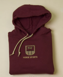 Stirrups Adult Horse Sports Crest Hoodie Best Price