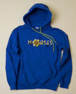 Stirrups Adult Horse Flower Hoodie Best Price