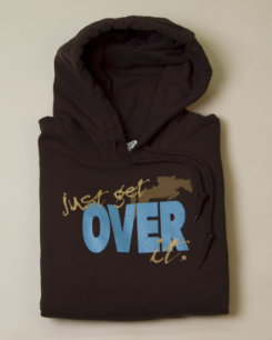 Stirrups Adult Just Get Over It Hoodie Best Price