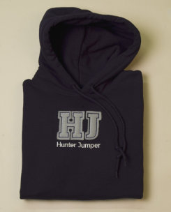 Stirrups Adult Hunter Jumper Hoodie Best Price