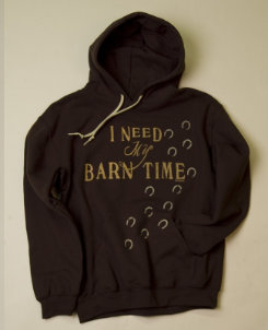 Stirrups Adult I Need My Barn Tme Hoodie Best Price