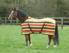 Shires Newmarket Wool Midweight Horse Stable Blanket