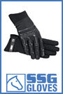 SSG Technical Wet or Dry Grip Riding Gloves