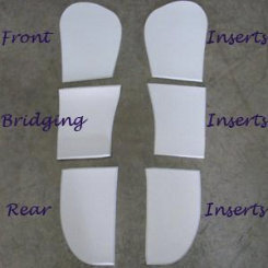 ThinLine Contender II Dressage Saddle Pad Inserts
