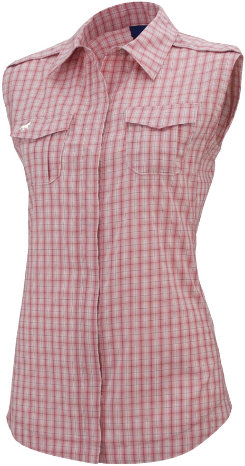 Irideon Ladies Sleeveless Cavalla Snap Shirt Best Price