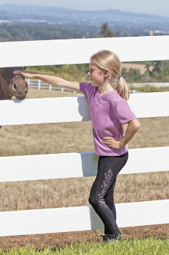 Irideon Kids Hearts n Horseshoes Tee Shirt