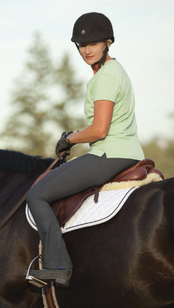 Irideon Ladies Issential Topline Boot Cut Riding Tights Best Price