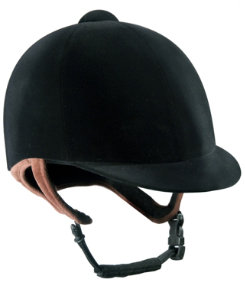 IRH Pro-Rider Low Profile Velvet Helmet Best Price