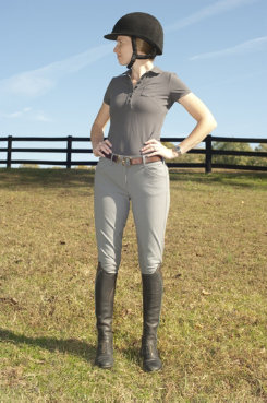 Tailored Sportsman Ladies Trophy Hunter Euro Style Breeches Best Price