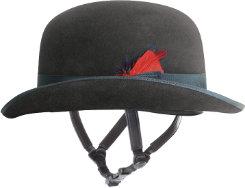Troxel Felt Derby Helmet System