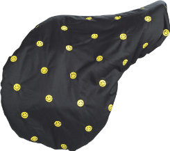 Lettia Embroidered Fleece Lined Saddle Cover