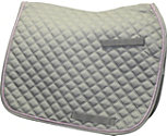 Lettia Cotton Quilted Dressage Saddle Pad