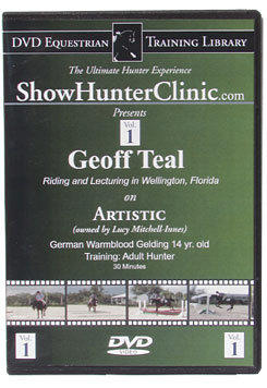 DVD Equestrian Video Library Show Hunter Geoff Teal on Artistic