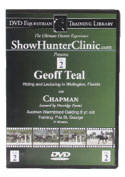 DVD Equestrian Video Library Show Hunter Geoff Teal on Chapman Best Price
