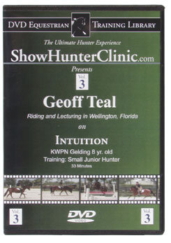 DVD Equestrian Video Library Show Hunter Geoff Teal on Intuition Best Price