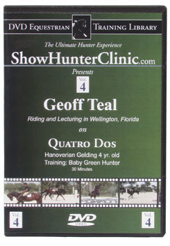 DVD Equestrian Video Library Show Hunter Geoff Teal on Quatro Dos Best Price