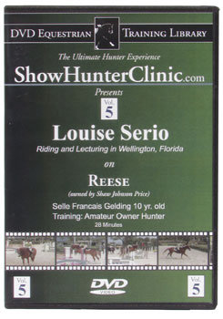 DVD Equestrian Video Library Show Hunter Louise Serrio on Reese Best Price