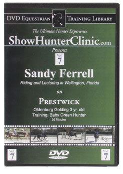 DVD Equestrian Video Library Show Hunter Sandy Ferrell on Prestwick Best Price