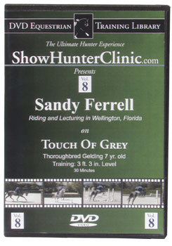 DVD Equestrian Video Library Show Hunter Sandy Ferrell on Touch of Grey Best Price