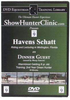 DVD Equestrian Video Library Show Hunter Havens Schatt on Dinner Guest Best Price
