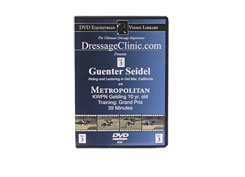DVD Equestrian Video Library Dressage Guenter Seidel on Metropolitan Best Price