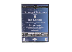 DVD Equestrian Video Library Dressage Jan Ebeling on Feleciano Best Price