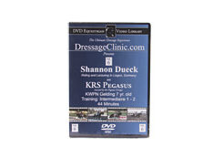 DVD Equestrian Video Library Dressage Shannon Dueck on KRS Pegasus Best Price
