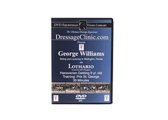 DVD Equestrian Video Library Dressage George Williams on Lothario Best Price