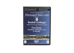DVD Equestrian Video Library Dressage Rudolf Zeilinger on Festival Best Price