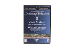 DVD Equestrian Video Library Dressage Juan Matute on Wie Atlantico