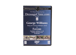 DVD Equestrian Video Library Dressage George Williams on Favore Best Price