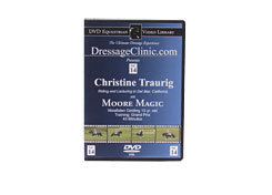 DVD Equestrian Video Library Dressage Christine Traurig on Moore Magic Best Price