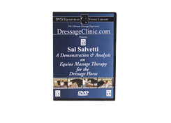 DVD Equestrian Video Library Dressage Sal Salvetti Massage Therapy Best Price