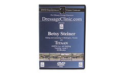 DVD Equestrian Video Library Dressage Betsy Steiner on Titaan Best Price