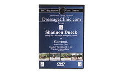 DVD Equestrian Video Library Dressage Shannon Dueck on Control Best Price