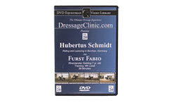 DVD Equestrian Video Library Dressage Hubertus Schmidt on Furst Fabio Best Price