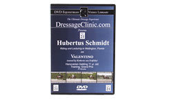 DVD Equestrian Video Library Dressage Hubertus Schmidt on Valentino Best Price