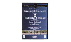 DVD Equestrian Video Library Dressage Schmidt/Shimoni