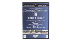 DVD Equestrian Video Library Dressage Betsy Steiner on Naomi-Day 1 Best Price