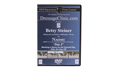 DVD Equestrian Video Library Dressage Betsy Steiner on Naomi-Day 2 Best Price