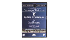 DVD Equestrian Video Library Dressage Volker Brommann on New Holland Best Price