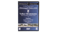 DVD Equestrian Video Library Dressage Volker Brommann on Farino Best Price