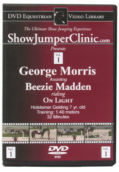 DVD Equestrian Video Library Show Jumping George Morris w/ Beezie Madden on On Light Best Price