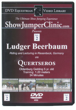 DVD Equestrian Video Library Show Jumping Ludger Beerbaum on Quertseros Best Price