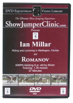 DVD Equestrian Video Library Show Jumping Ian Millar on Romanov Best Price