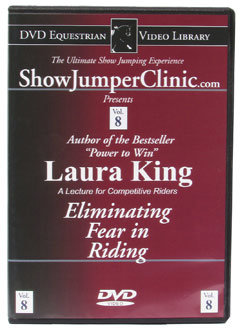 DVD Equestrian Video Library Show Jumping Laura King- Eliminating Fear Best Price