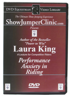DVD Equestrian Video Library Show Jumping Laura King- Performance Anxiety Best Price