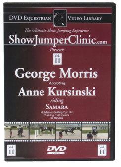 DVD Equestrian Video Library Show Jumping George Morris w/ Anne Kursinski on Samara Best Price