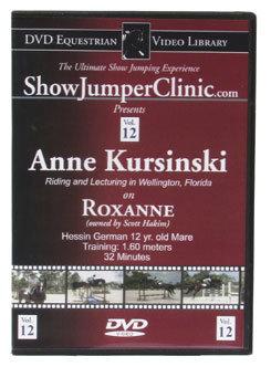 DVD Equestrian Video Library Show Jumping Anne Kursinski on Roxanne Best Price