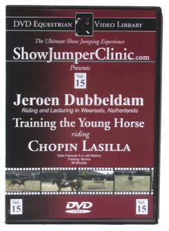 DVD Equestrian Video Library Show Jumping Jeroen Dubbeldam-Training Young Horse Best Price